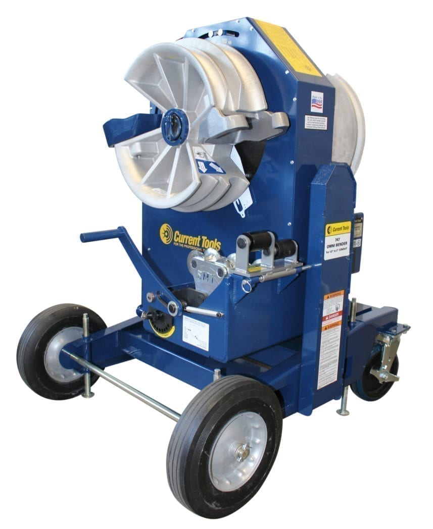 Electric Pipe Benders   Contractors Choice Inc  Tools and Equipment